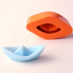 Forma de Silicone Barquinho