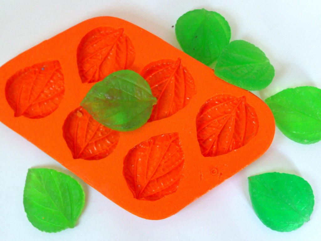 Moldes de Silicone Folha de Hortelã 3 G