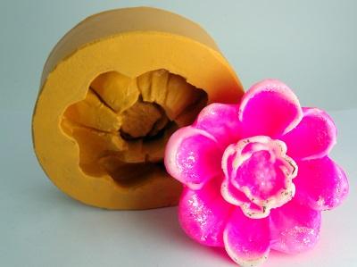 Molde de Silicone Papoula