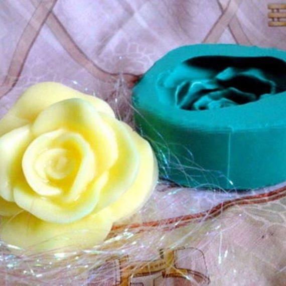 Forma de silicone Rosa Média