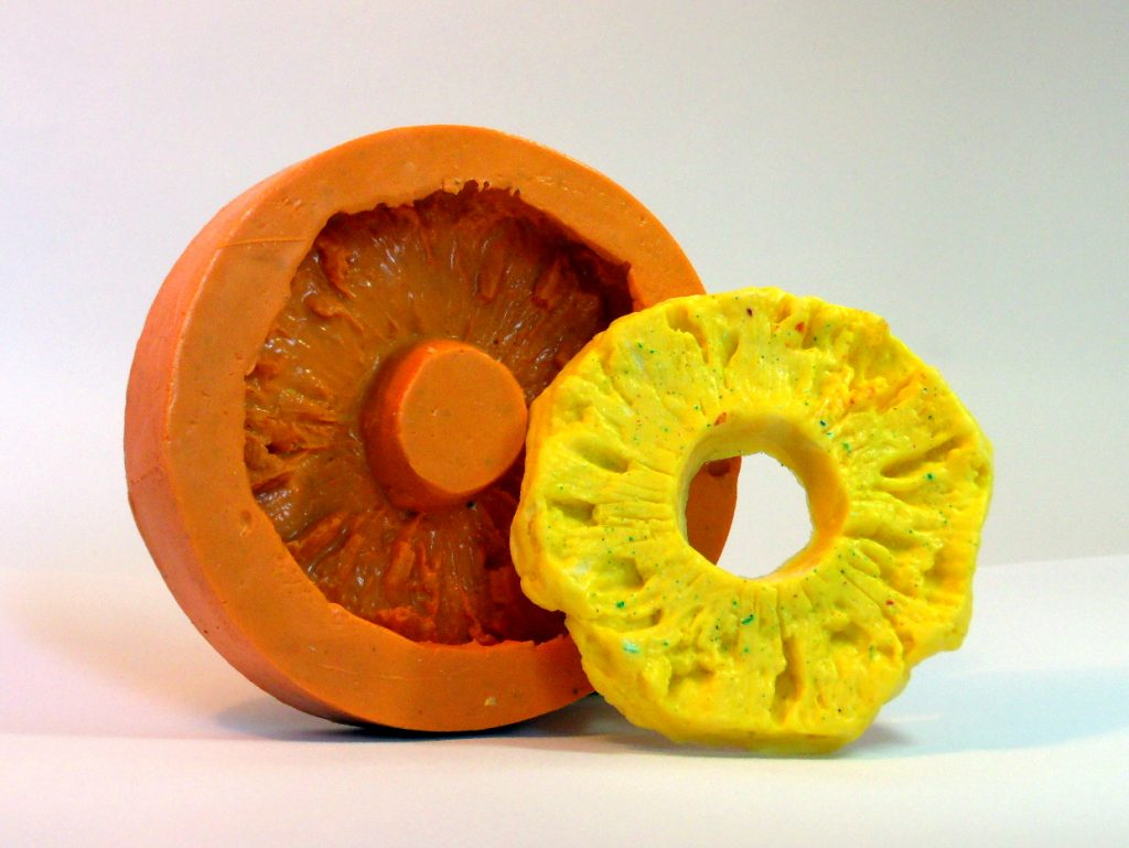 Forma de silicone Abacaxi fatia
