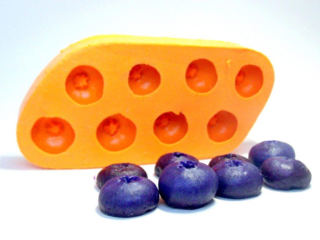 Forma de Silicone Blueberry