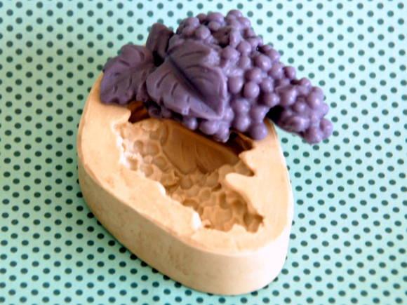 Forma de silicone Cacho de Uvas