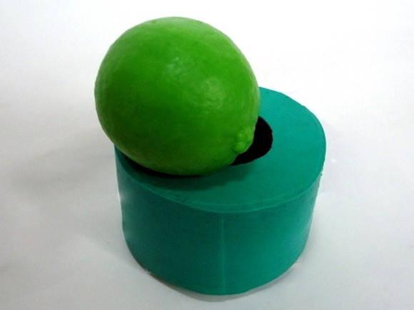 Forma de silicone Limão
