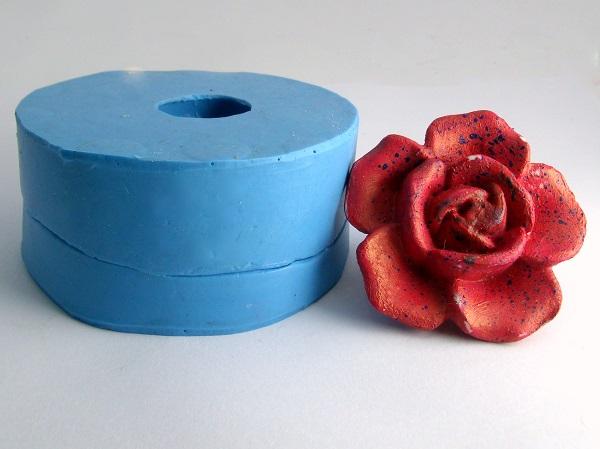 Molde de Silicone Flor do Amor Pequena