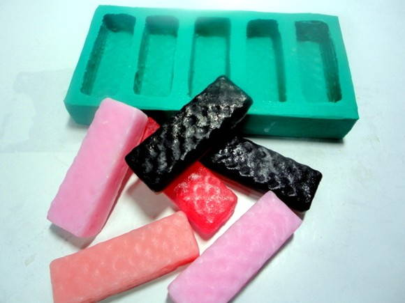 Forma de silicone Chocolates Bis 5 Cavidades