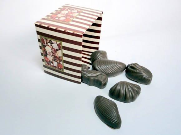 Forma de silicone Bombons Frutos do Mar 6 Cavidades