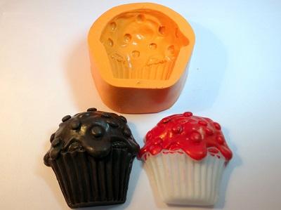 Molde de Silicone Cupcake Confete