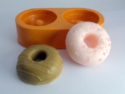 Molde de Silicone Mini Donuts 2 cavidades