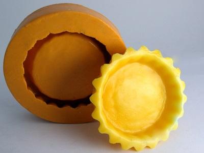 Forma de Silicone Massa para Torta G