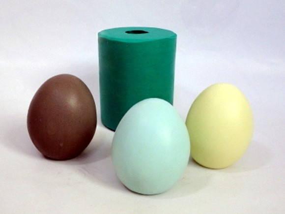 Forma de silicone Ovo de Páscoa