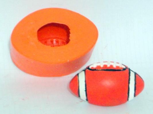Molde de Silicone Bola de Futebol Americano