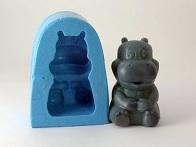 Molde de Silicone Hipopótamo