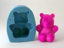 Molde de Silicone Urso Sentado