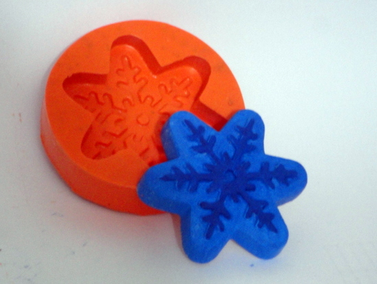 Forma de silicone Floco de Neve Frozen
