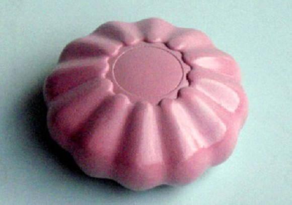 Forma de silicone Redondo Detalhado